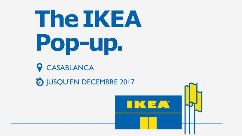 Ikéa ouvre 3 pop up stores au Maroc
