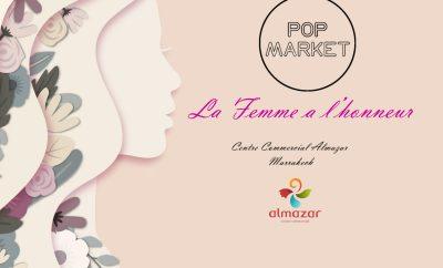 Popmarket Almazar le femme à l'honneur